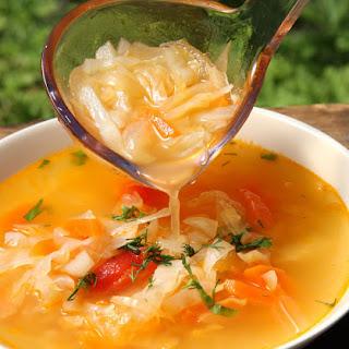 Polish Cabbage and Sauerkraut Soup Recipe - Kapuśniak.