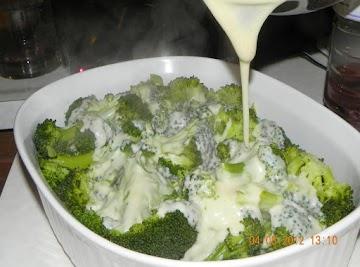 Gratin Of Broccoli In Bechamel Recipe