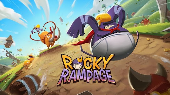 Rocky Rampage Wreck em Up MOD (Unlimited Energy) 1