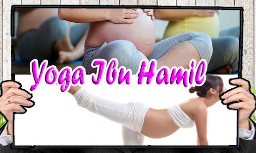 Yoga Ibu Hamil - náhled