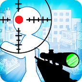 Stickman sniper : Tap to kill