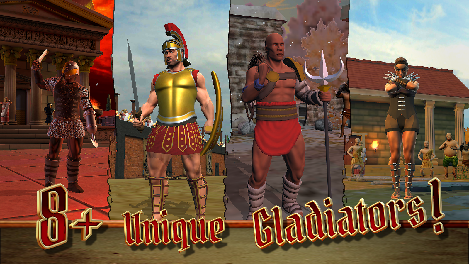 Gladiator Bastards- screenshot