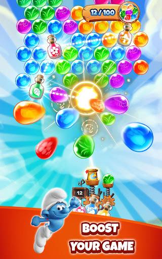 Smurfs Bubble Shooter Story apkdebit screenshots 12