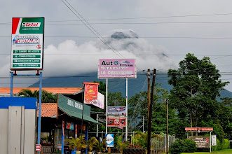 Photo: Volcano Arenal on an average day.