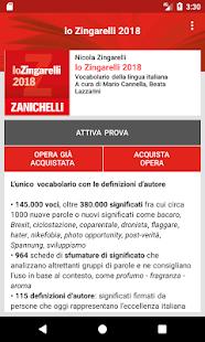 lo Zingarelli 2018 - náhled