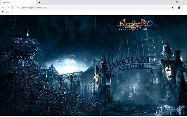 Batman Arkham Asylum Wallpapers and New Tab