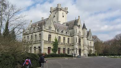 Photo: Het kasteel van Meldert in gebruik door het Sint-Janscollege (klaslokalen, refter)