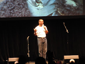 Photo: What we did at night - w00tstock; Le Var Burton sings Reading Rainbow theme song