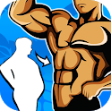 Weight loss app for men - Lose weight at home icon