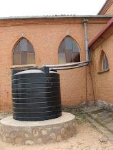 Photo: Muhororo Church Water Catchment