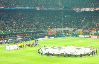 Photo: Champions League football, 1 hr from your home!