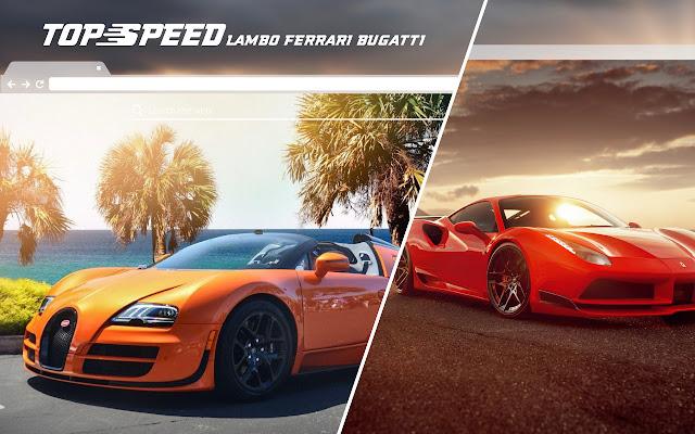 Lambo Ferrari Bugatti Car HD Wallpaper Theme