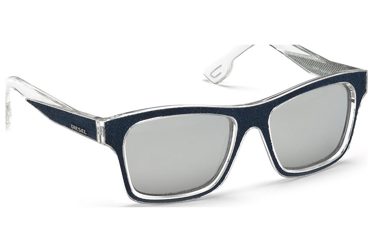 Comprar Gafas de sol Diesel DL0071 C55 27C (crystal other   smoke ... 3dbcb05676