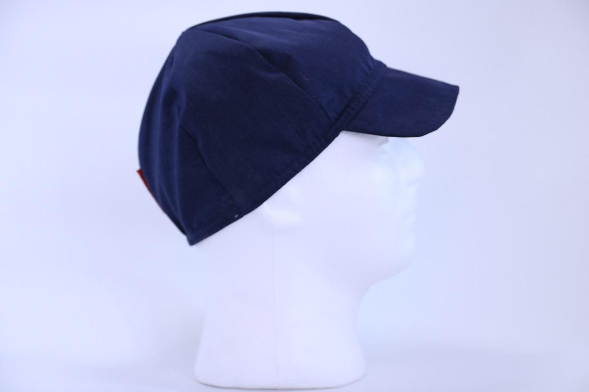 כובע בסיסי מבד חוסם קרינה כחול