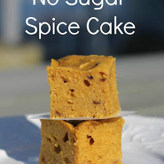 No Sugar Spice Cake