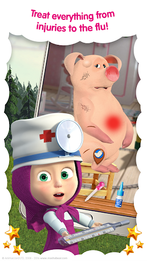 Masha and the Bear: Vet Clinic 3.21 screenshots 2