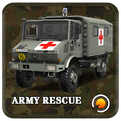Army Rescue Truck Drive 3D
