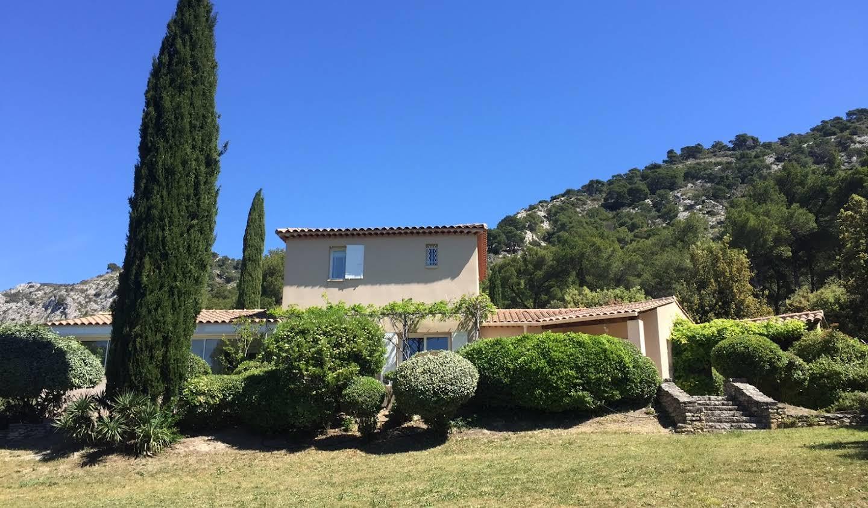 Maison contemporaine avec jardin et terrasse Cheval-Blanc