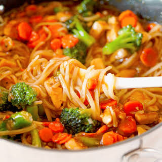 Teriyaki Chicken Noodle Bowls.