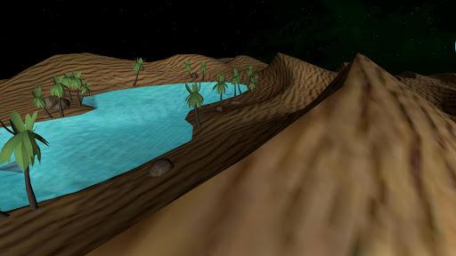 Oasis in the Desert 3D