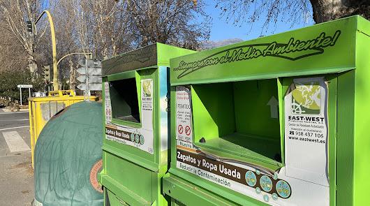 Recopiladas veinte toneladas de ropa usada en Berja durante 2020