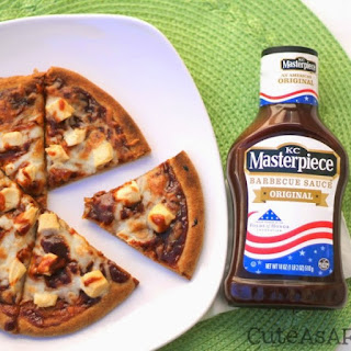 Barbecue Chicken Flatbread Pizza