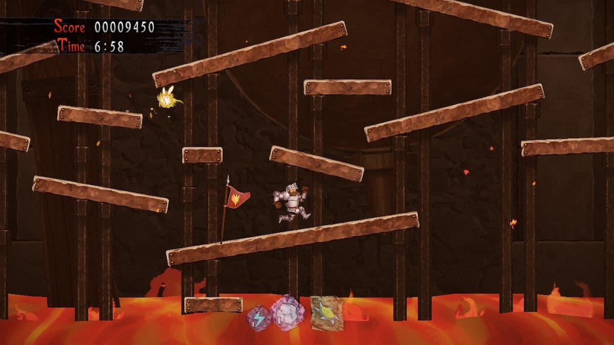 Ghosts 'n Goblins Resurrection Hellfire Hamlet Bee 9
