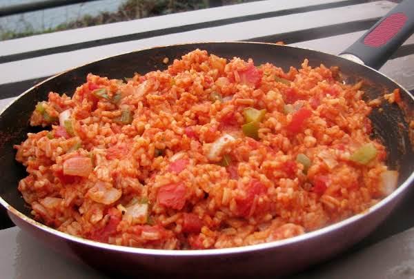 1950's Spanish Rice Aka Texas Hash