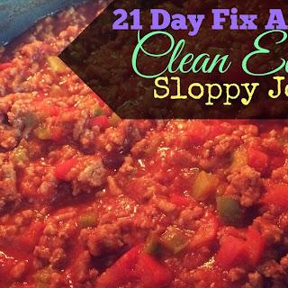 Clean Eating Sloppy Joes