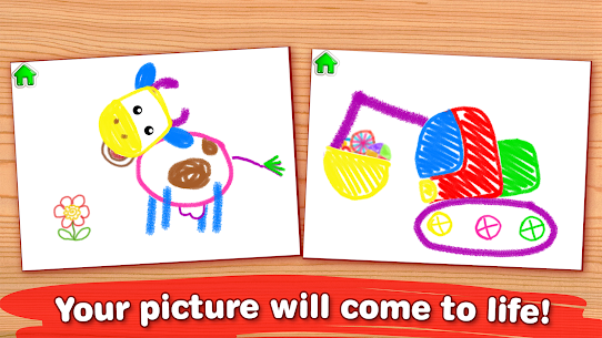 Drawing for Kids Learning Games for Toddlers age 3 Mod Apk Download For Android 3