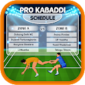 Pro Kabaddi 2019 Schedule : Kabaddi 2019 Season 7 icon