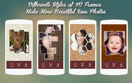 3D Photo Collage Effects