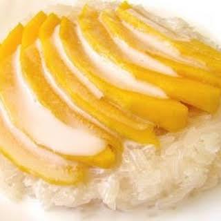 Thai Coconut-Mango Sticky Rice.