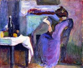 """Photo: Henri Matisse, """"La lettrice in abito viola"""" (1898)"""