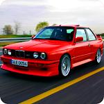 E30 M3 Drift In City 2018 icon
