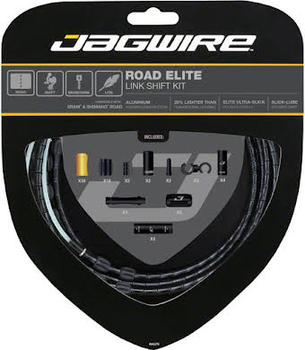 Jagwire Road Elite Link Shift Cable Kit with Ultra-Slick Uncoated Cables alternate image 10