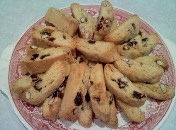 Cherry-almond Biscotti