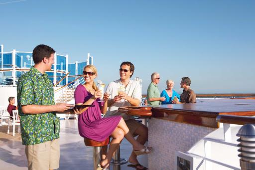 Adonia-Happy-Hour-on-Deck.jpg - Meet new friends and enjoy happy hour on deck on Fathom's Adonia.