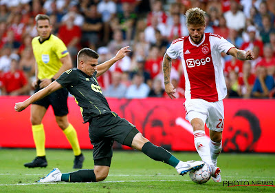 Razvan Marin is op de bank beland bij Ajax
