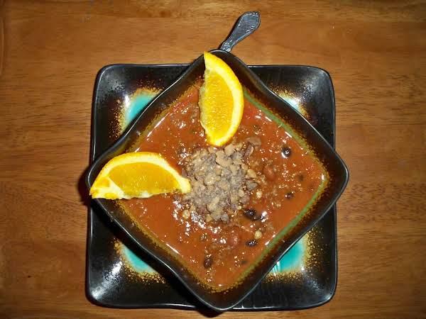 Orange Heath Bar Chili-annette's Recipe