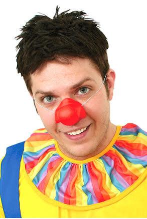 Clownnäsa, gummi