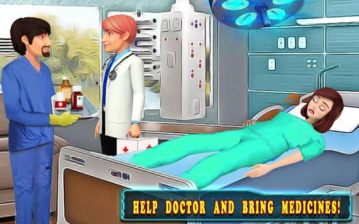 Hospital Cash Register Cashier Games For Girls  screenshots 10
