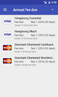Credit Card Manager- screenshot thumbnail