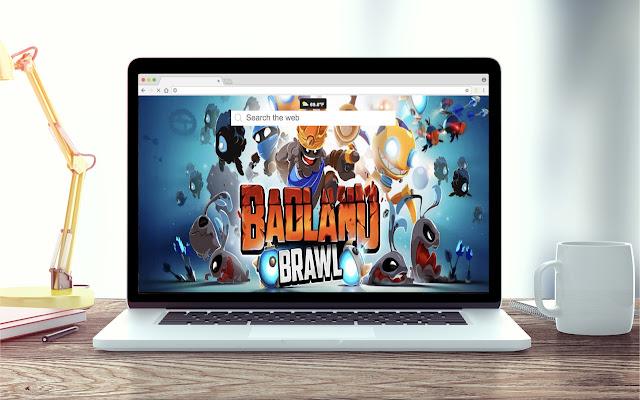 Badland Brawl Game Wallpaper Theme