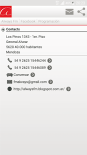 Fm Always (92.7 Mhz): miniatura de captura de pantalla