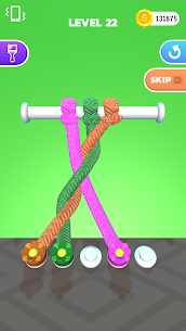 Tangle Master 3D Mod APK (Unlimited Coins/No Ads) for Android 5
