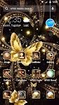 screenshot of Shine Golden Fantastic Butterfly-APUS Launcher