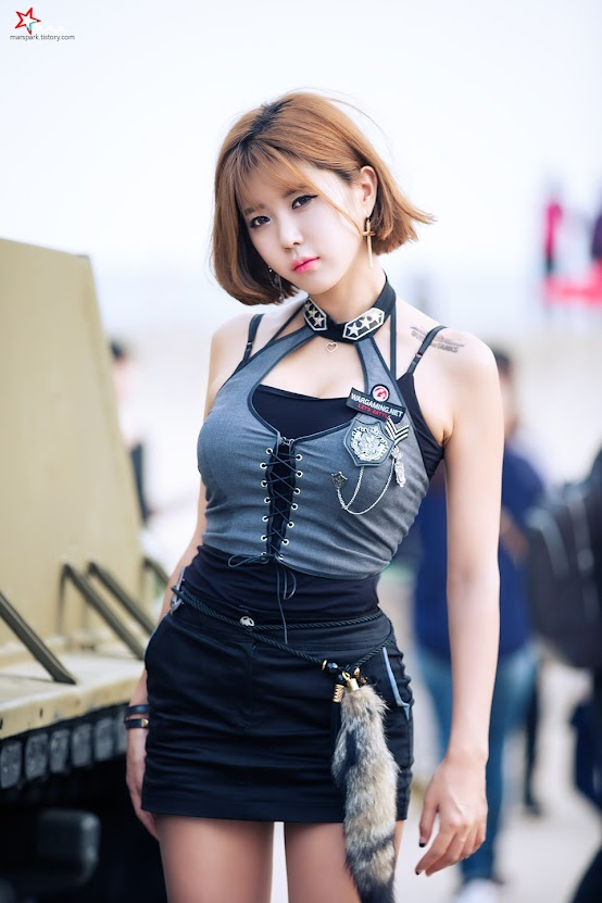 Heo Yun Mi tại World of Tanks BIFF Event