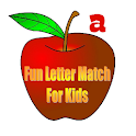 Fun Letter Match for Kids icon