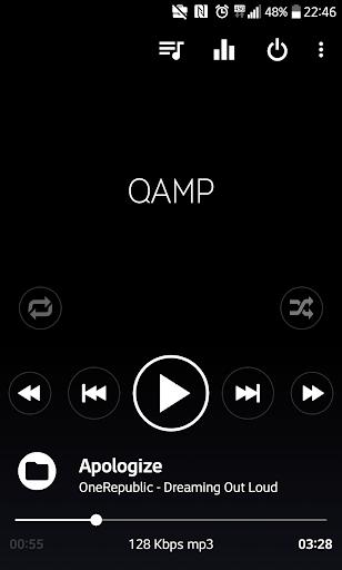 Mp3 player - Qamp screenshot 1